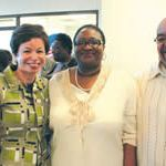 Valerie Jarrett, Senior Advisor to President Obama visits Milwaukee campaign office