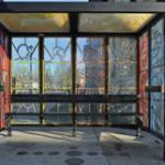 "North Avenue Public Art Bus Shelter ""Kindred Ties"" reinstalled"
