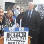 Citizens unite to defend same day voter registration