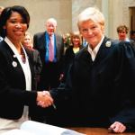Nikiya Harris is sworn in as State Senator