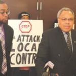 African American leaders denounce bill to cut County Board power
