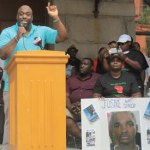 Hundreds attend Trayvon Martin rally and Darius Simmons' killer gets life in prison