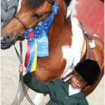 8 year-old equestrian has sights on the Olympics