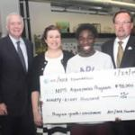 AT&T, NEA Foundation $98,000 contribution to support MPS' Aquaponics Program
