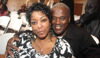 Angela and Andre Ellis participated in the 4th Annual Black Marriage Day Celebration last weekend at The Brentwood Church of Christ Church. (Photo by Robert A. Bell)