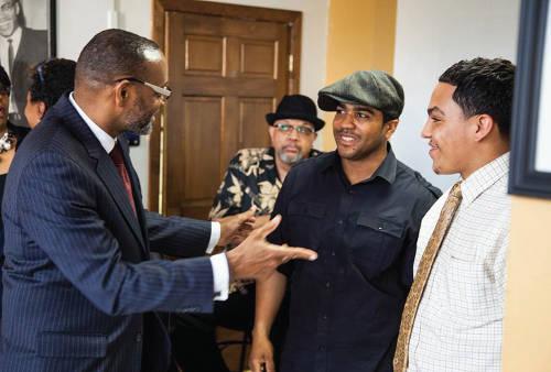 Rahim Islam, Atty Fred Gordon, El-Amin Abdullah, Aziz Abdullah