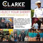 Incumbent Sheriff David Clarke addresses crime in midst of campaign