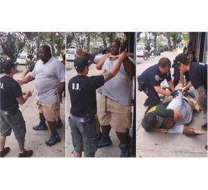 Eric Garner, an innocent father choked to death by NYPD on July 17 (Courtesy Photo)