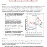 Economic Challenges In The Black Community