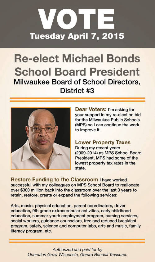 re-elect-michael-bonds-mps-school-board-president