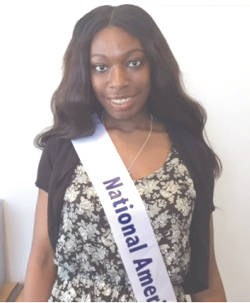 16-year-old Cynthia Gude will compete in the state National American Miss pageant in August.