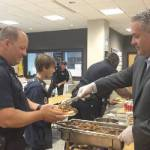 In Honor of Thank a Police Officer Day, District 3 Surprised with Lunch & Gifts