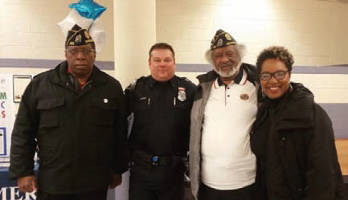 Mesmer Preparatory School, 4th district MPD, Officer Ciano and Sen. Lena Taylor
