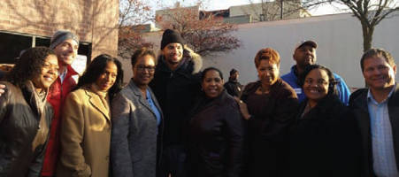 Milwaukee Health Service Inc. 2555 N Dr. Martin Luther King Jr Dr. Andrea Williams, Sen. Lena Taylor, Jerryd Bayless (Milwaukee Bucks) Pamela Clark (MSHI) Cassandra McShepard, 6th District Ald. Milele Coggs