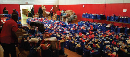 St. Gabriel COGIC, 5375 N. 37th distribution preparation