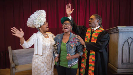 Crowns Cast in Moving Church Scene