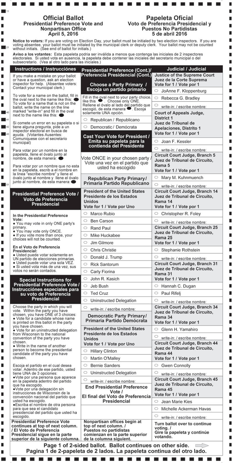 Spring-Election-Presidential-Preference-Vote-Sample-Ballots-optical-scan-page-1