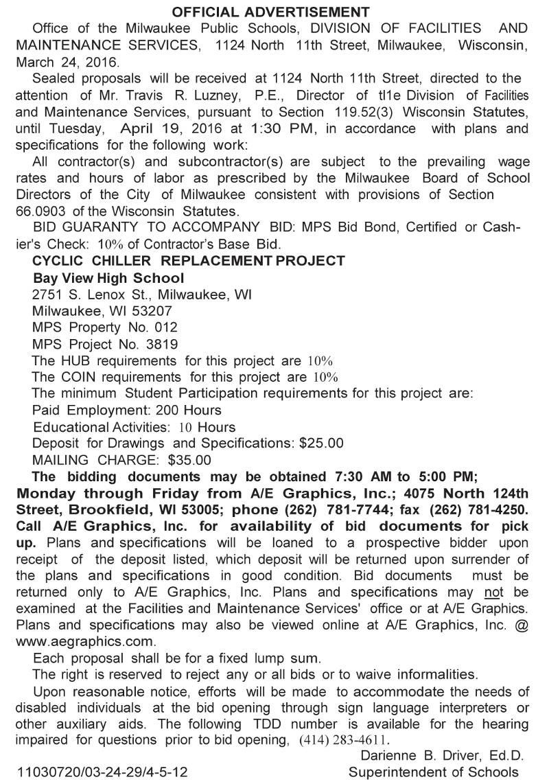mps-requesting-bids-cyclic-chiller-replacement-project-bay-view-high-school