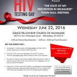 "Milwaukee Area Health Clinic Holding Town Hall Meeting on  ""The State of HIV Prevention in Milwaukee"""