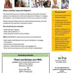 Healthy Living With Diabetes Workshops