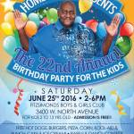 Homer Blow Presents The 22nd Annual Birthday Party For The Kids