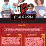 Deadline For Freedom Scholarship Essay Contest Is One Month Away