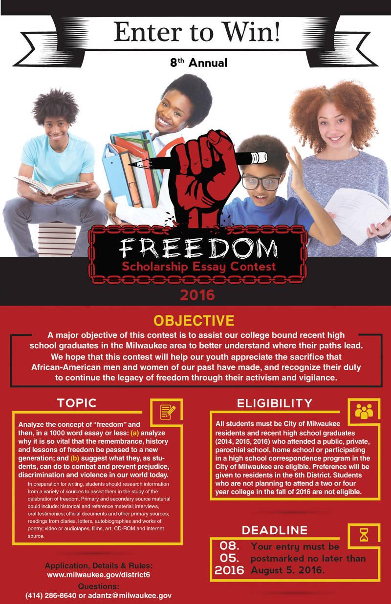 freedom-scholarship-essay-contest-2016-milwaukee-district-6