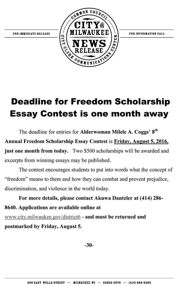 freedom-scholarship-essay-contest-2016-press-release-milele-a-coggs
