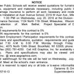 MPS Requesting Quotations for Stair Treads Installation at Auer Avenue School