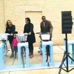 Bublr Station on North Ave and King Drive Unveiled