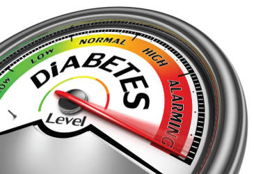 diabetes-risk-scale-level-red-zone-alarming