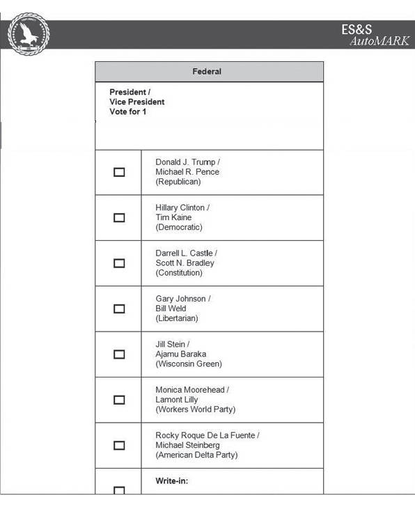 Sixth image of Sample Ballot For Upcoming Election with Notice of General Election and Sample Ballots November 8 ...