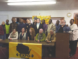 EXPO is a leadership group of Ex-Prisoners working to fight against mass incarceration. (Photo by Dylan Deprey)