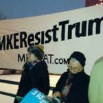 Milwaukee Coalition Against Trump and Hundreds Protest Trump Inauguration