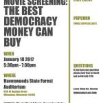 Movie Screening: The Best Democracy Money Can Buy on Jan 18