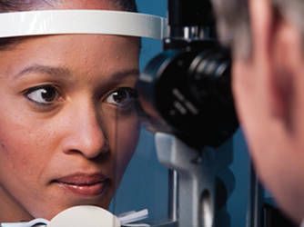 woman-receiving-eye-exam