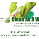 Get Free Estimates On Cleaning Services With Clean As A Whistle
