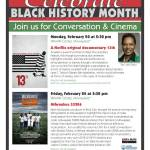 Join Us For Conversation and Cinema Feb 20 Through Feb 24
