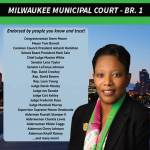 Re-Elect Judge Valerie Hill for Milwaukee Municipal Court – Br. 1