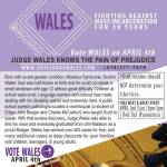Vote Judge Wales on April 4th for Branch 47