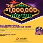 Slot Tournaments Thursdays and Saturdays in May at Potawatomi