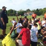 Gilbert Brown Tackles Fundamentals and Life Skills at 12th Annual All-Pro Football Camp