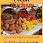 Country Fresh Kitchen Makes All Organic Dishes