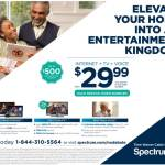 Elevate Your Home Into An Entertainment Kingdom With Spectrum