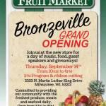 Pete's Fruit Market Bronzeville Grand Opening Thursday September 14