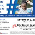 Community Open House, Resource and Job Fair on November 2nd