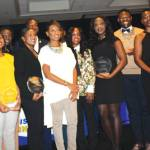 "The NNPA award presentation for the 2017 ""Discover the Unexpected"" (DTU) Journalism Fellowship"