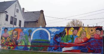 Milwaukee Art Project and Walnut Hill Residents to Celebrate Quilt of Healing Mural