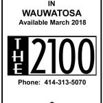 Apartments For Rent in Wauwatosa Available March 2018