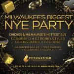 Milwaukee's Biggest NYE Party is at Potawatomi Hotel & Casino